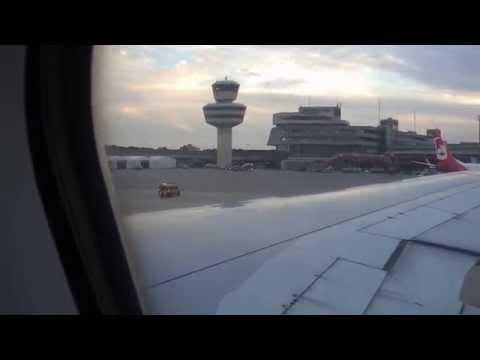 Hainan Airlines Airbus A330 Landing and Taxing at Berlin Tegel