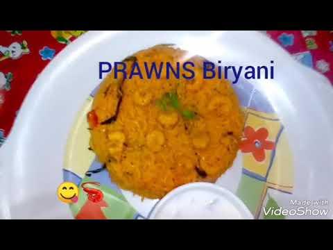 PRAWNS BIRYANI // Royyala Biryani   //  Sunday special