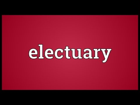 Header of electuary