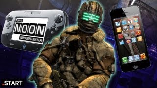 Dead Space 3, Wii U vs. iPhone 5, & Greg Does Cosplay - Up At Noon