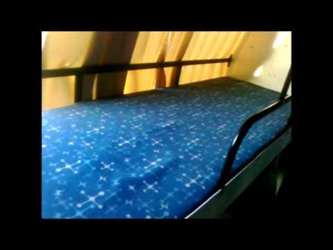 VOLVO BUS - Multi Axle Fully AC Sleeper (2+1) Coach Interiors