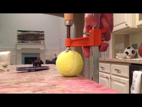 What's Inside A Tennis Ball?