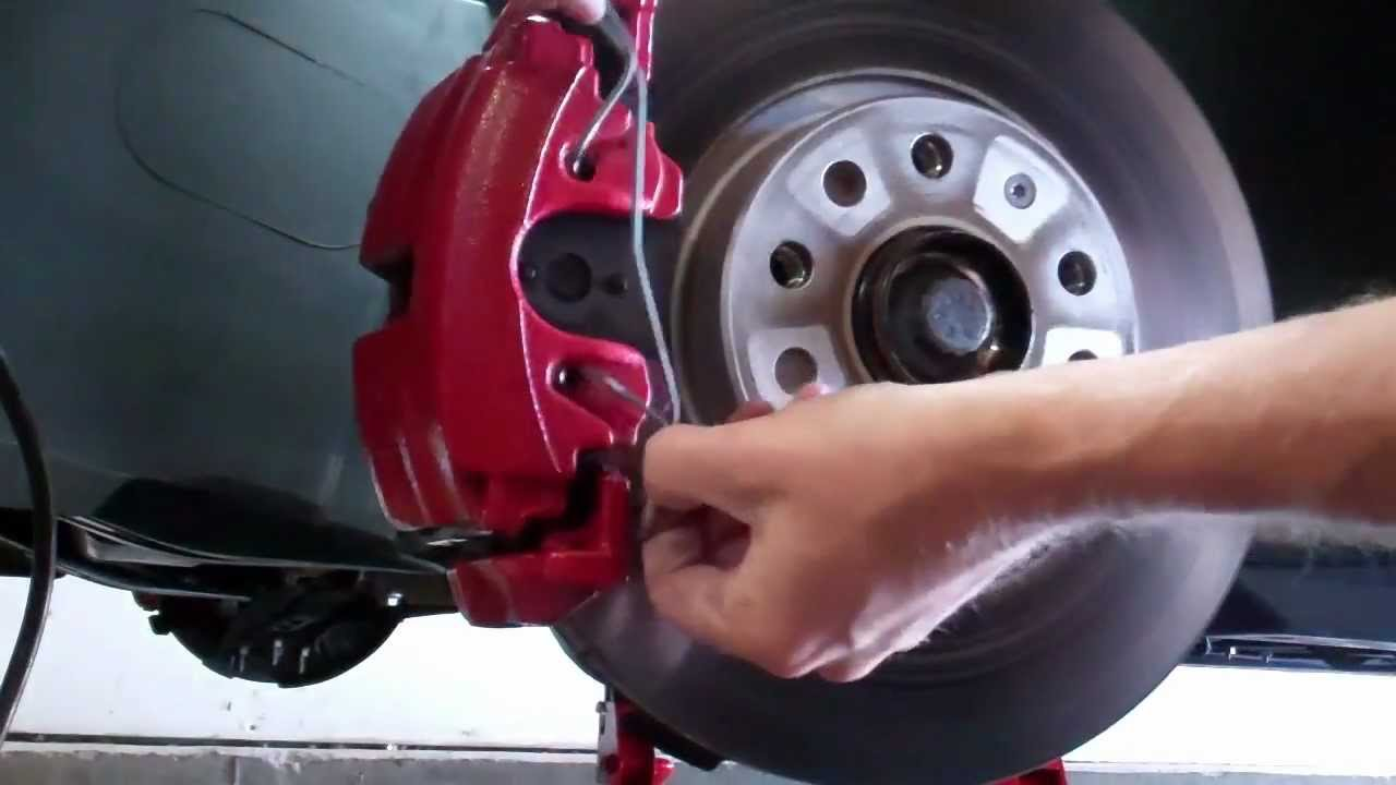 2011 Vw Gti Ep 46 Changing Front Brake Pads Youtube