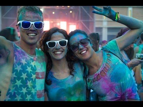 Holi Festival Of Colours BARCELONA 2013