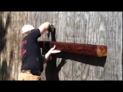 How To Mount The Mantel Beam Youtube