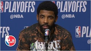 'The game was over' - Kyrie Irving on why he left before the final buzzer | 2019 NBA Playoffs