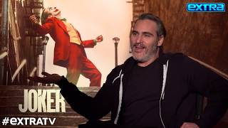 Joaquin Phoenix Opens Up to 'Extra' About 'Joker' and His Late Brother, River