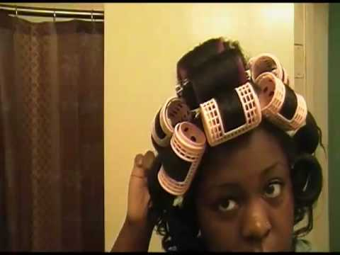 Roller Set Wrap Natural Hair http://www.plaats.nl/almere/videos/uPENHqMtAIs/rollerset-with-silk-wrap-part1/
