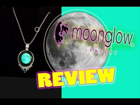 MOONGLOW Jewelry 🌙 My New Moon Phase Necklace 💜 - Review