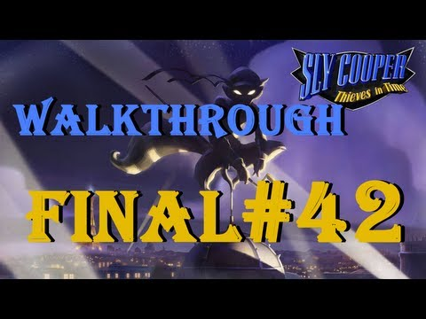 Sly Cooper 4 Thieves in Time Part 42 FINAL (Last Boss Battle)