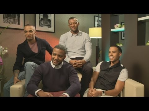 Interview: JLS talk new fragrance Love, perfect dates and plans for 2013