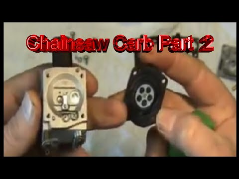 Chainsaw Carburetor Repair Part 2