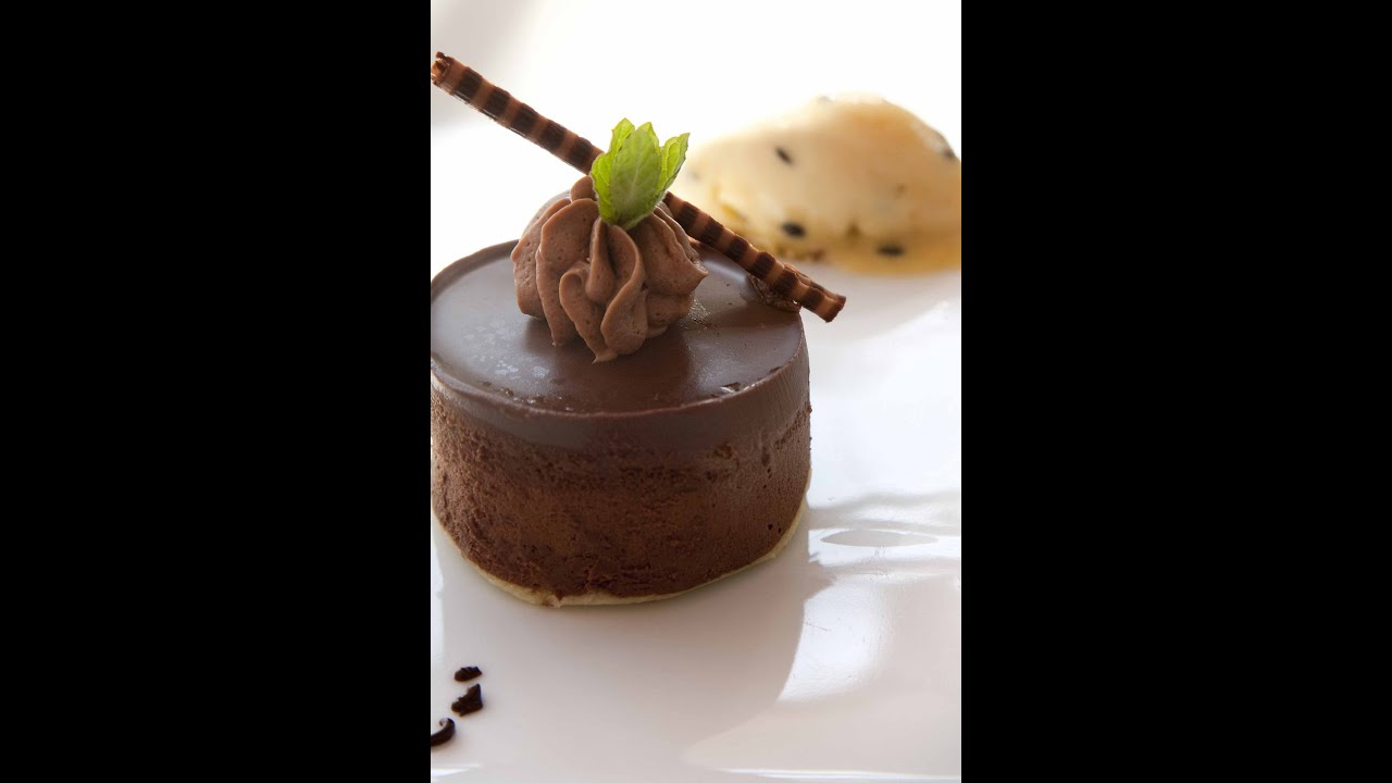 Chocolate Rum Mousse Cake Recipe