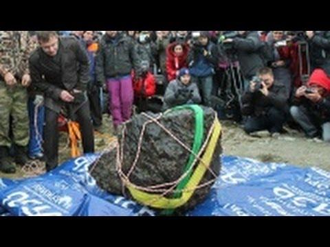Челябинский метеорит сломал весы  Метеорит достали со дна озера