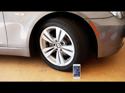 iPhone 6 Plus vs. BMW Car - Durability Test