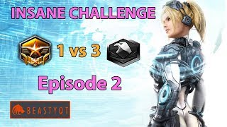StarCraft 2: Grandmaster 1 vs 3 Platinum Players - INSANE Challenge - Episode 2