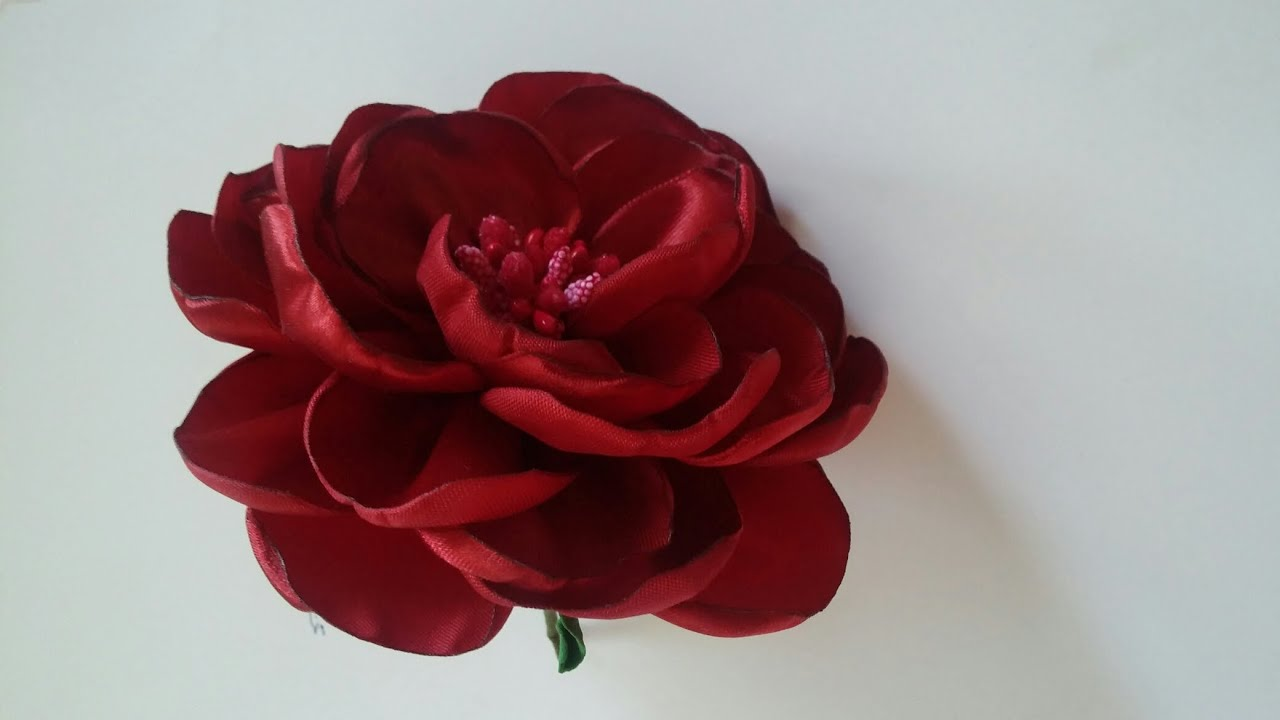 Пышная роза своими руками 85