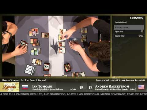 World Magic Cup 2014 Round 12 (Unified Standard): Slovak Republic vs. United States