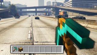 MİNECRAFT MOD (GTA 5)