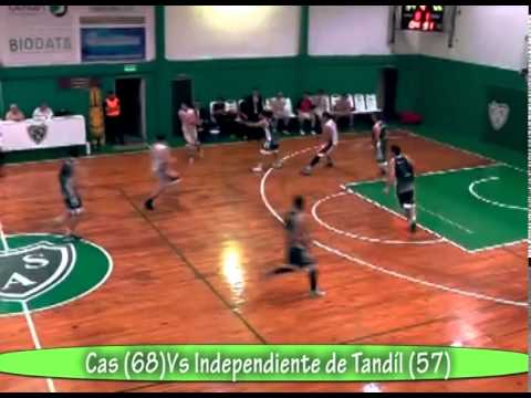 Cas ( junin) 68  vs  independiente (Tandil ) 57 Torneo Federal