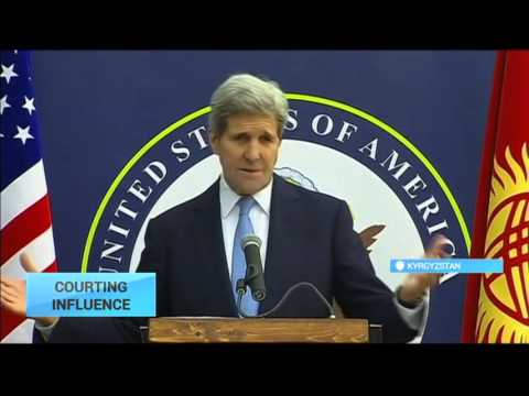 US John Kerry Visits Kyrgyzstan: US and Russia vying for influence in post-Soviet space