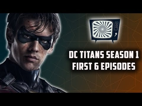 DC TITANS SEASON 1A SHOW REVIEW - Double Toasted Reviews