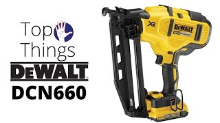 DeWALT DCN660 2nd Fix Nailer - the Top 5 Things You Need to Know