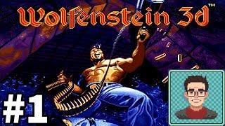 Wolfenstein 3D - Retro FPS Series - Live Stream 08/15/18