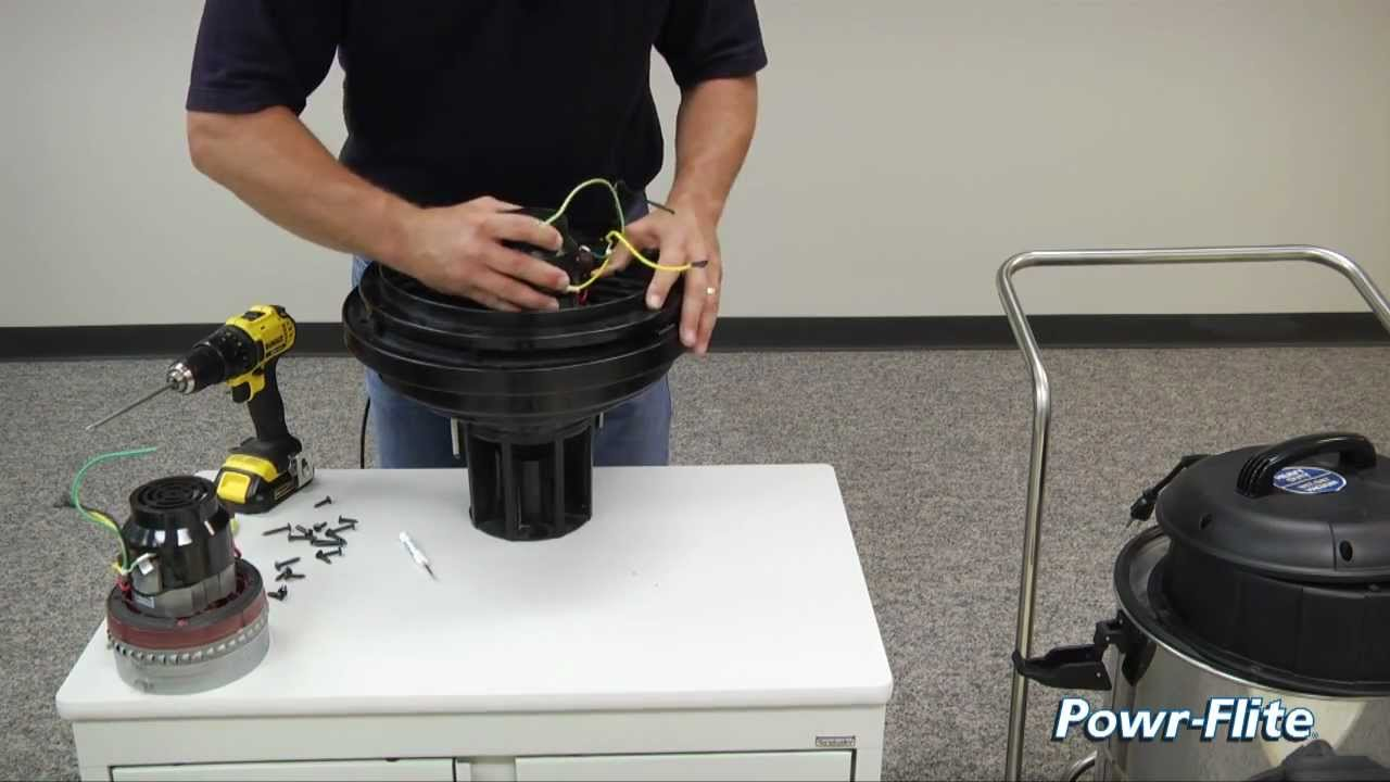 How To Replace The Motor In A Wet  Dry Vacuum