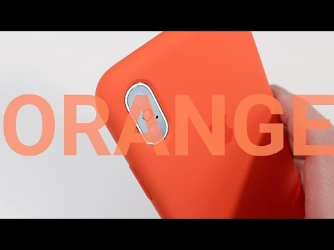 Apple iPhone X Spicy Orange Silicon Case Review