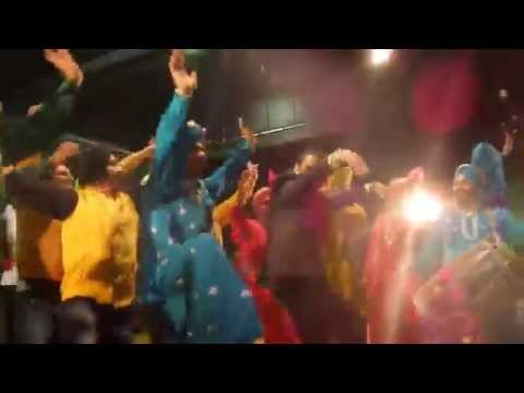 Superb Bhangra dance by Govinda in Auckland at Festival Of India