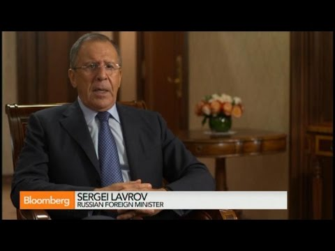 Sergei Lavrov: Many Russian `Volunteers' in Ukraine