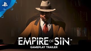 Empire of Sin | Gameplay Trailer | PS4