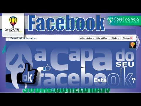 Como Fazer Capas para Facebook no CorelDraw X6