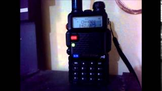 Walkie talkie with baofeng UV 5R
