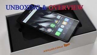 Unboxing & Overview | Micromax Canvas 6 pro | Hindi