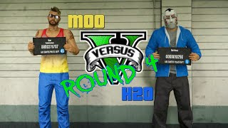 GTA 5 Fun - Moo vs Delirious: Round 4 (PC and Xbox One Funny Moments)