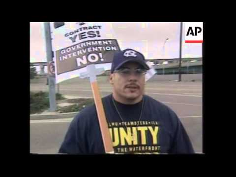 Secretary of Labor, unions comment on port strike, ports affected