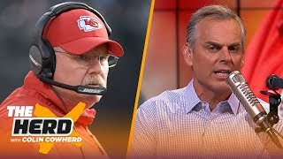 Andy Reid talks about the expectations for Mahomes, playoff loss to the Patriots | NFL | THE HERD