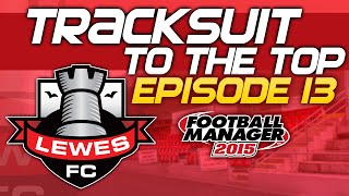 Tracksuit to the Top: Episode 13 - Shrewsbury Town Rematch! | Football Manager 2015