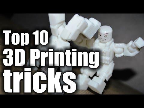 Top 10 3D Printing Tricks HD
