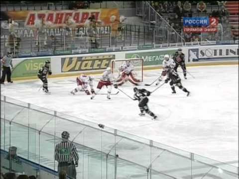 KHL 2010/11: Avangard 4-3 Spartak