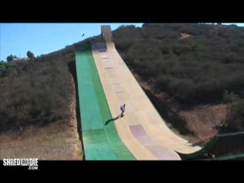 Tony Hawk at Bob Burnquist s Mega Ramp
