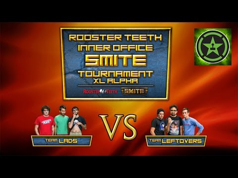 Rooster Teeth Inter-Office SMITE Tournament: Team Lads VS Team Leftovers