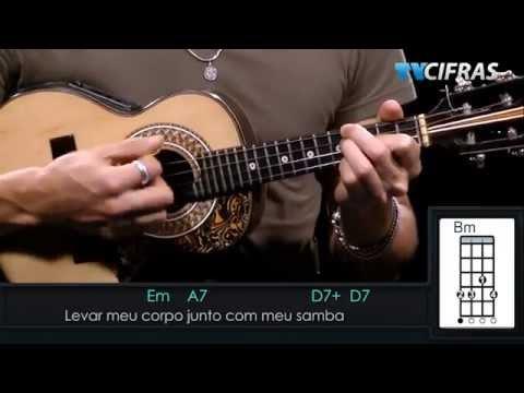 Alcione - Não Deixe o Samba Morrer - Aula de cavaquinho - TV Cifras