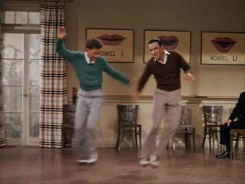 Gene Kelly & Donald O'Connor - Moses supposes (with hun sub)