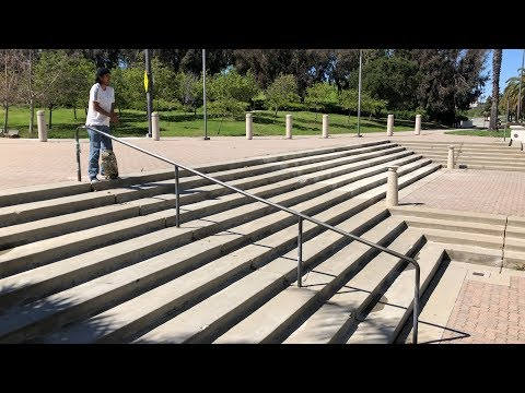 SKATING A SKETCHY RAIL IN THE WIND AND MUCH MORE !!! - NKA VIDS -