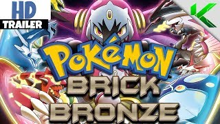 POKEMON BRICK BRONZE GAME TRAILER! (Fanmade) - Pokemon Brick Bronze