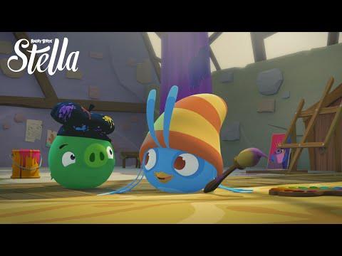Angry Birds Stella Ep.11 Sneak Peek - the Portrait video
