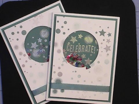 StampinUp Celebrate Today Shaker Card YouTube